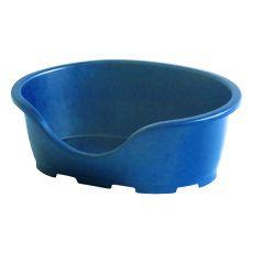 Hundekorb PERLA 3, blau - 66 x 46 x 25 cm