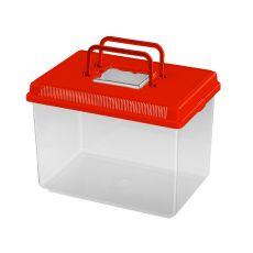 Transportbehälter Ferplast GEO LARGE - rot, 6L