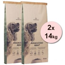 Magnusson Meat & Biscuit ADULT 2x14kg