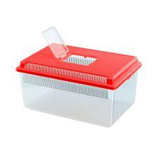 Transportbox für Reptilien und Insekten GEO FLAT SMALL, 4 L