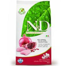 Farmina N&D dog GF ADULT Chicken & Pomegranate 0,8 kg