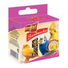 VITAPOL - Honigherzchen für Vögel, 20 g