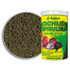 TROPICAL Cichlid Spirulina Medium Sticks 250ml