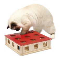 Katzenspielzeug MAGIC BOX, 27 x 27 x 8,5 cm