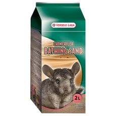 Chinchilla Bathsand - Reinigungssand für Chinchillas 1,3kg/2l