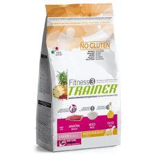 Trainer Fitness3 Junior MEDIUM MAXI - Ente mit Reis 12,5 kg