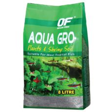 Bodensubstrat OF Aqua Gro Plants Shrimp & Soil 8 l