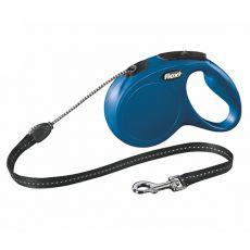 Flexi Leine New Classic M bis zu 20 kg, 5 m Länge - blau