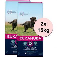 EUKANUBA ADULT Large Breed Chicken - 2 x 15 kg