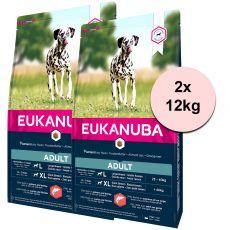 EUKANUBA ADULT Salmon 2 x 12 kg