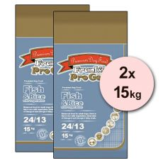 Frank´s Pro Gold Fish and Rice 24/13 mit Gemüse - 2 x 15kg
