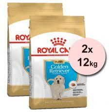 ROYAL CANIN GOLDEN RETRIEVER JUNIOR - 2 x 12 kg
