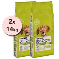 PURINA DOG CHOW ADULT Lamb 2 x 14 kg