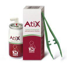 ATIX Set zur Entfernung von Zecken - 9ml Spray + Pinzette
