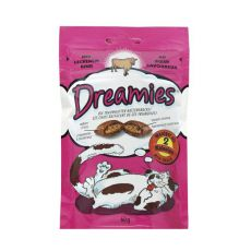 Snack für Katzen - DREAMIES Drops mit Rindfleisch, 60g