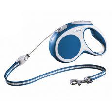 Flexi Vario M Seil-Leine bis 20kg, 5m Seil - blau