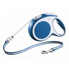 Flexi Vario M Seil-Leine bis 20kg, 8m Seil - blau