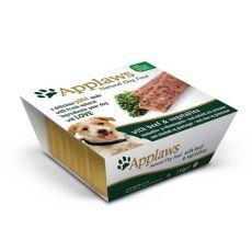Applaws Paté Dog - Pastete für Hunde mit Rindfleisch und Gemüse, 150g