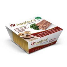 Applaws Paté Dog - Pastete für Hunde mit Hühnerfleisch und Gemüse, 150g