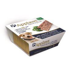 Applaws Paté Dog - Pastete für Hunde mit Lachs und Gemüse, 150g