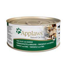 Applaws Cat - Dose für Katzen mit Thunfisch und Meeresalgen, 70g