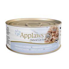 Applaws Cat - Dose für Katzen mit Thunfisch und Käse, 70g