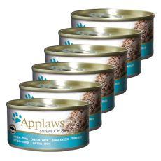 Applaws Kitten - Dose für Kätzchen mit Thunfisch, 6 x 70g