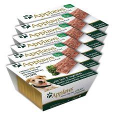 Applaws Paté Dog - Pastete für Hunde mit Rindfleisch und Gemüse, 6 x 150g