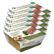 Applaws Paté Dog - Pastete für Hunde mit Lammfleisch und Gemüse, 6 x 150g