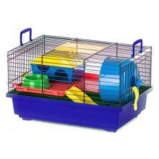 Hamsterkäfig TEDDY mit Kunststoffausstattung