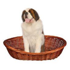 Hundekorb geflochten - 120 cm