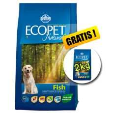 Farmina MO P ECOPET N dog FISH MEDIUM 12 kg + 2 kg GRATIS