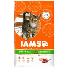 IAMS ProActive Health Adult Cat Lamb & Chicken - 3kg