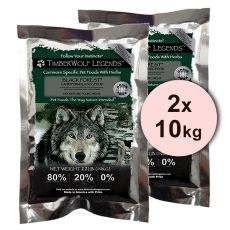 TimberWolf Black Forest LEGENDS - 2 x 10 kg