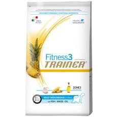 Trainer Fitness3 Adult MEDIUM & MAXI - Fisch und Mais 12,5 kg