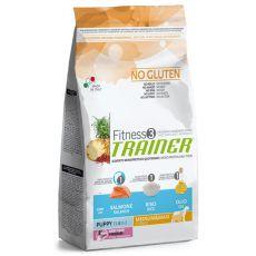 Trainer Fitness3 Puppy & Junior MEDIUM MAXI - fish and rice 12,5 kg