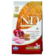 Farmina N&D dog LG Light SMALL & MEDIUM Chicken & Pomegranate 2,5 kg