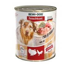 New BEWI DOG Nassfutter – Geflügel, 800g