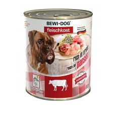 New BEWI DOG Nassfutter – Rindpansen, 800g
