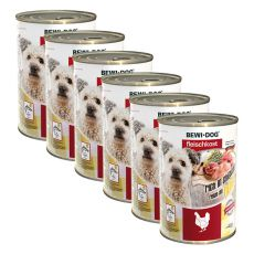 New BEWI DOG Nassfutter – Chicken - 6 x 400g