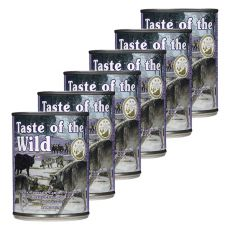 TASTE OF THE WILD Sierra Mountain Canine - Dose, 6 x 390g