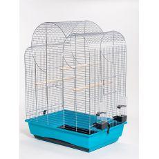 Käfig für Papageien ELIZA - chrom - 54 x 39 x 76 cm