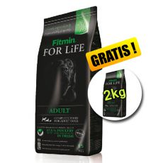 Fitmin FOR LIFE Adult All Breeds 15+2kg GRATIS