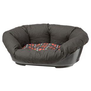 Kunststoffbett für Hunde und Katzen SOFA 10 mit Bezug - 96 x 71 x 32 cm