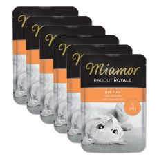 MIAMOR Ragout Royal 6 x 100g - PUTE
