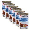 ONTARIO Dose für Katze - Rind, Lachs und Öl - 6 x 400g