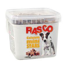 Hundesnack RASCO - Mini-Kalziumsternchen, 600g