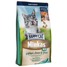 Happy Cat Minkas MIX - Geflügel, Lamm und Fisch - 10kg