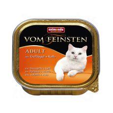 Animonda Vom Feinsten Adult Cats - Geflügel und Kalb, 100g