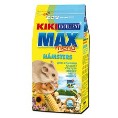 KIKI EXCELLENT MAX MENU - Futter für Hamster, 1kg